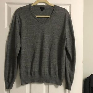 J. Crew Dark Grey Sweater Size Medium - Like New